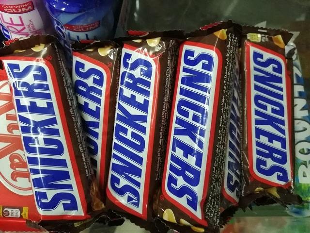 Are snickers vegan