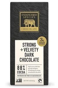 Endangered Species Chocolate Extreme Dark Chocolate Bar