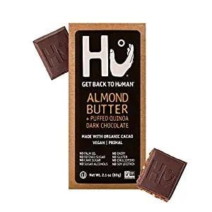 Hu's Almond Butter + Puffed Quinoa Dark Chocolate