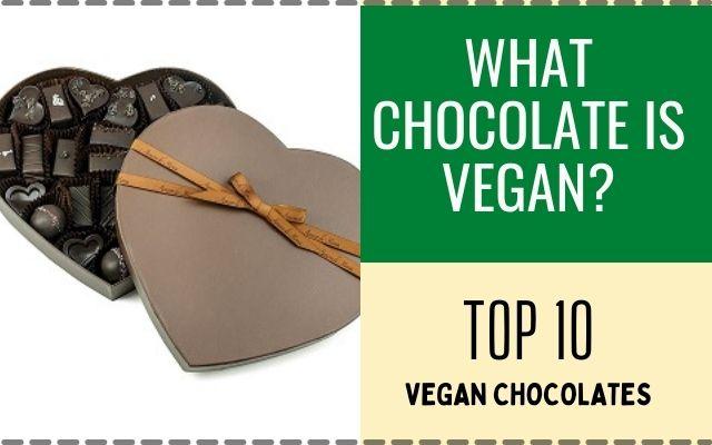 What Chocolate is Vegan?